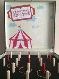Carnival Ring Toss game stall rental
