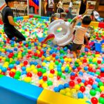 Colourful Giant Ball Pit for Rent