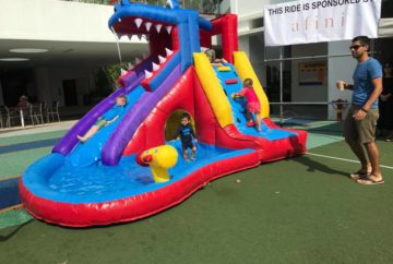 Crocodile Club Bouncy Castle Rental Singapore