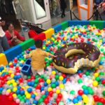 Donut Float in Ball Pit