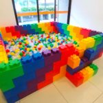 Mega Lego Brick Ball Pit