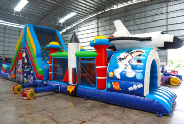 Space Inflatable Obstacle Rental Singapore
