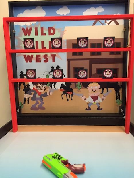 Wild Wild West carnival game stall rental