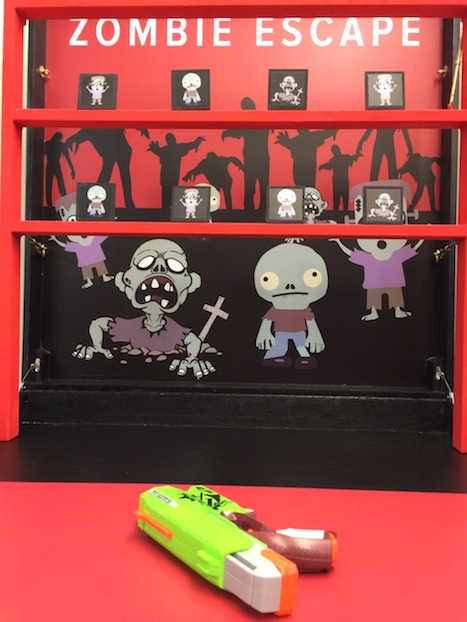 Zombie Escape carnival game stall rental