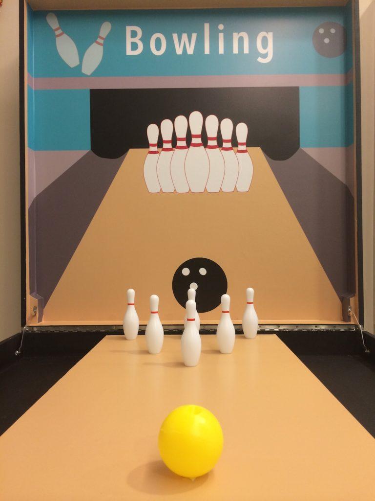 bowling carnival game stall rental