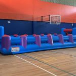 Inflatable Human Soccer Game