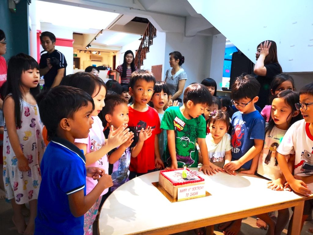 Plan a birthday party in Singapore 2021