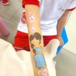 Princess Hand painting Singapore