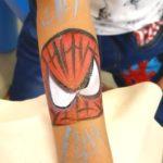 Spiderman Hand Paint Singapore