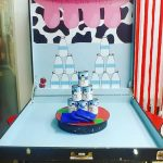 Milk Cans Toss Carnival Game