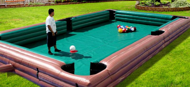 Inflatable Human Pool Table