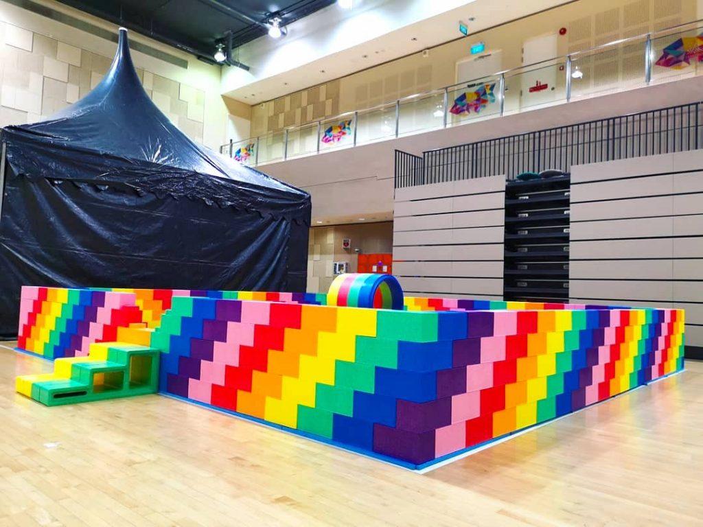 Large Lego Bricks Playground