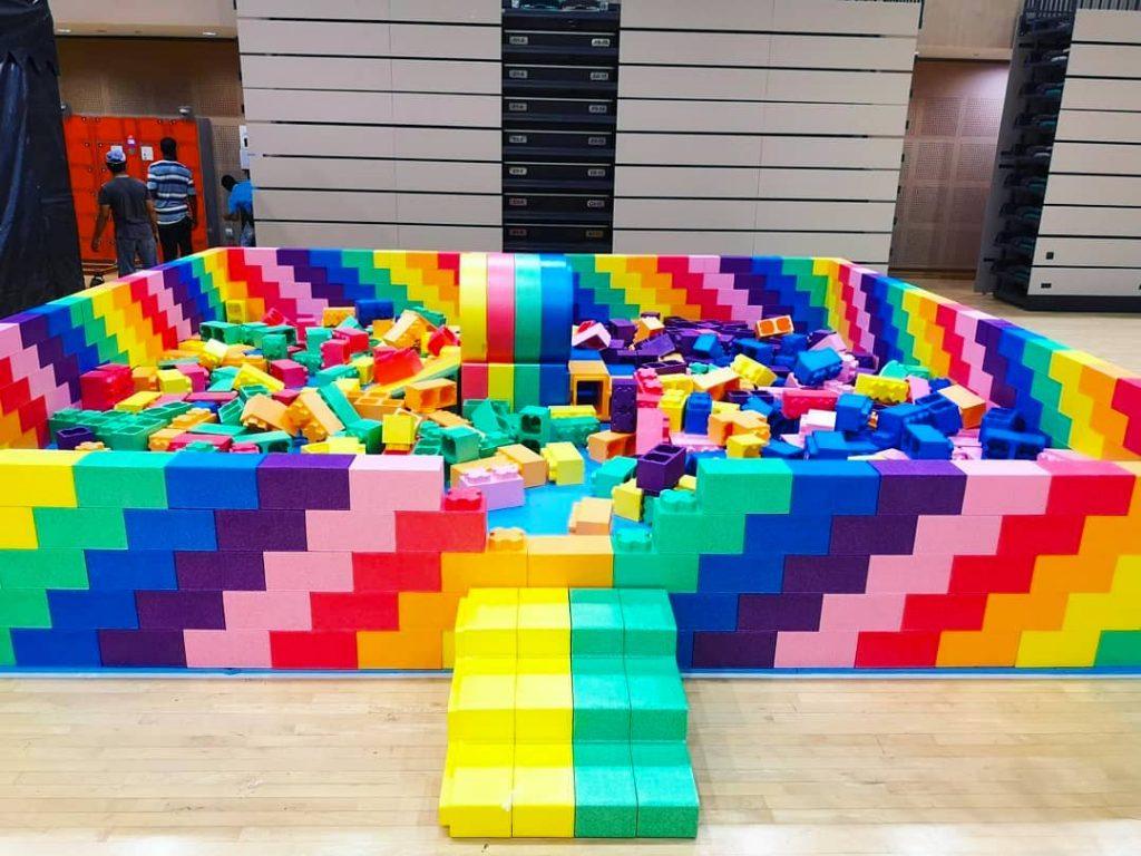 Lego Brick Playground Rental