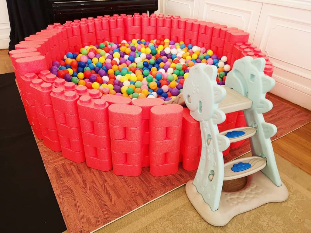 Lego Round Ball Pit Rental
