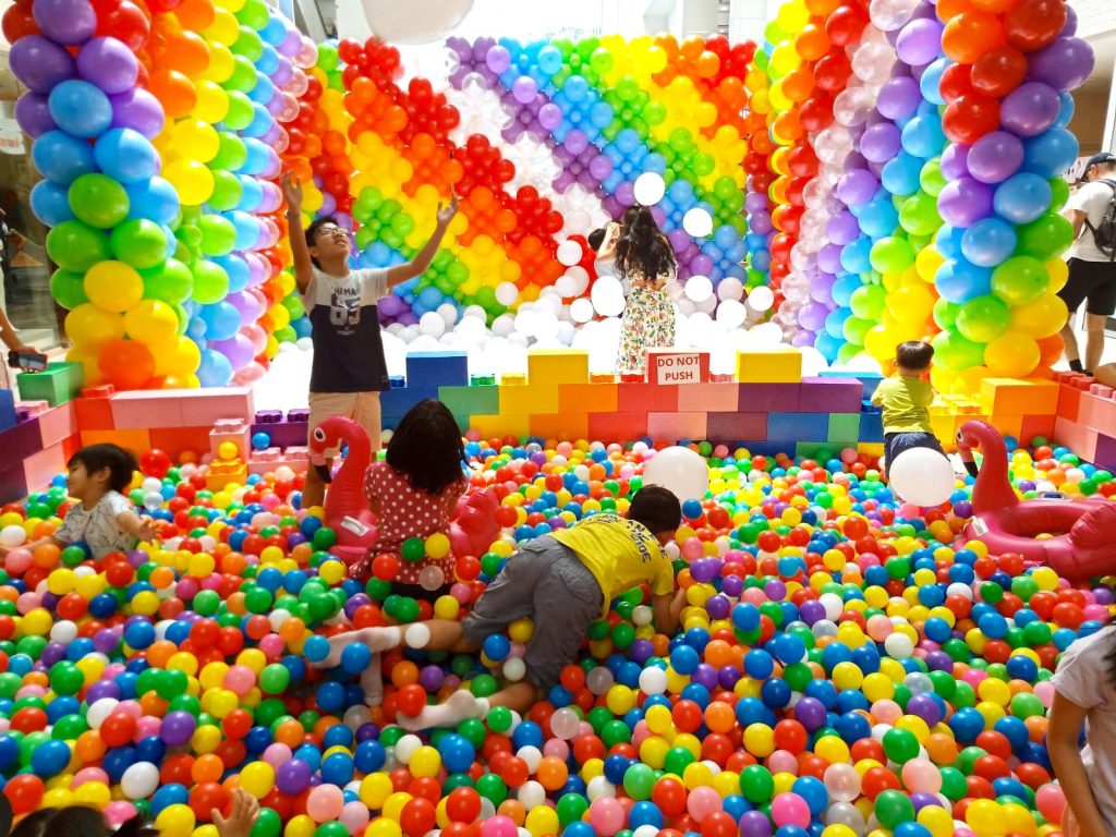 Playground Hire for Shopping Mall