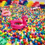 Rainbow Ball Pit for hire