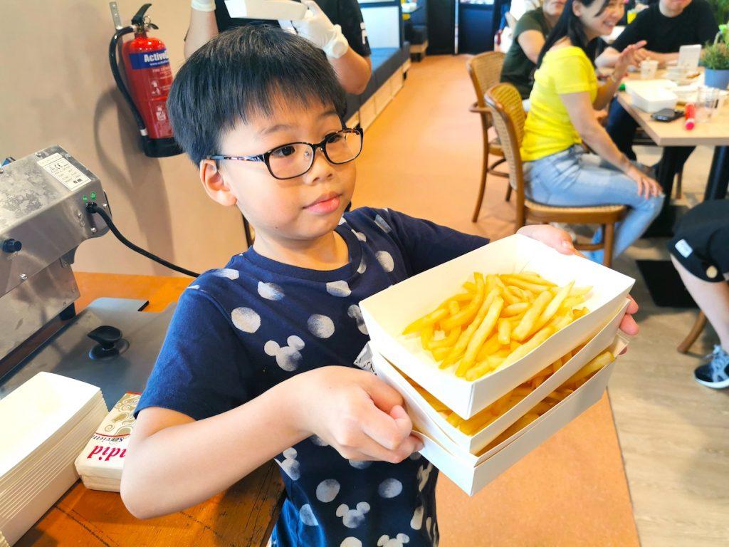 Live Fries Station Rental