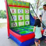 Inflatable Tic Tac Toe Game Rental