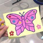 Butterfly Sand Art