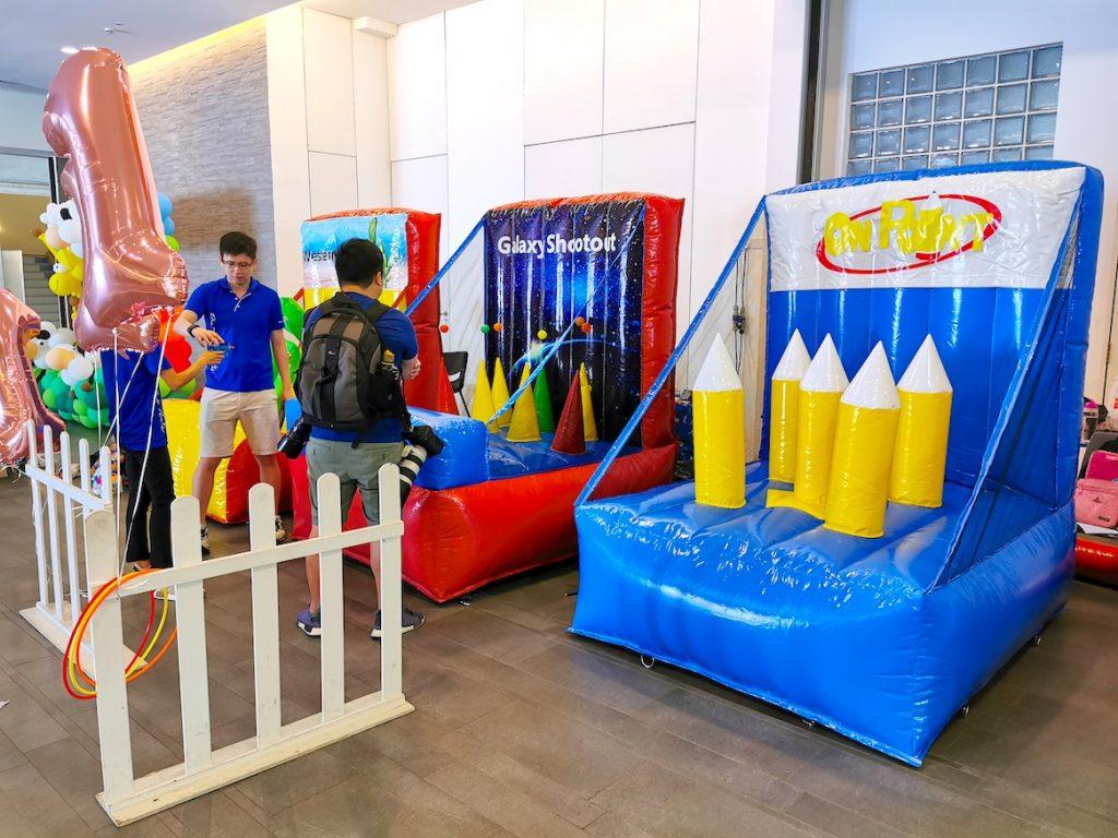 Carnival Inflatable Game Stalls Rental