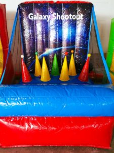 Inflatable Galaxy Shootout Game Stall Rental