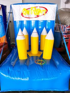 Inflatable On Point Game Stall Rental