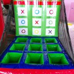 Inflatable Tic Tac Toe Game Stall Rental