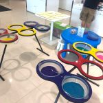 Sand Art Activity at Land Rover Showroom