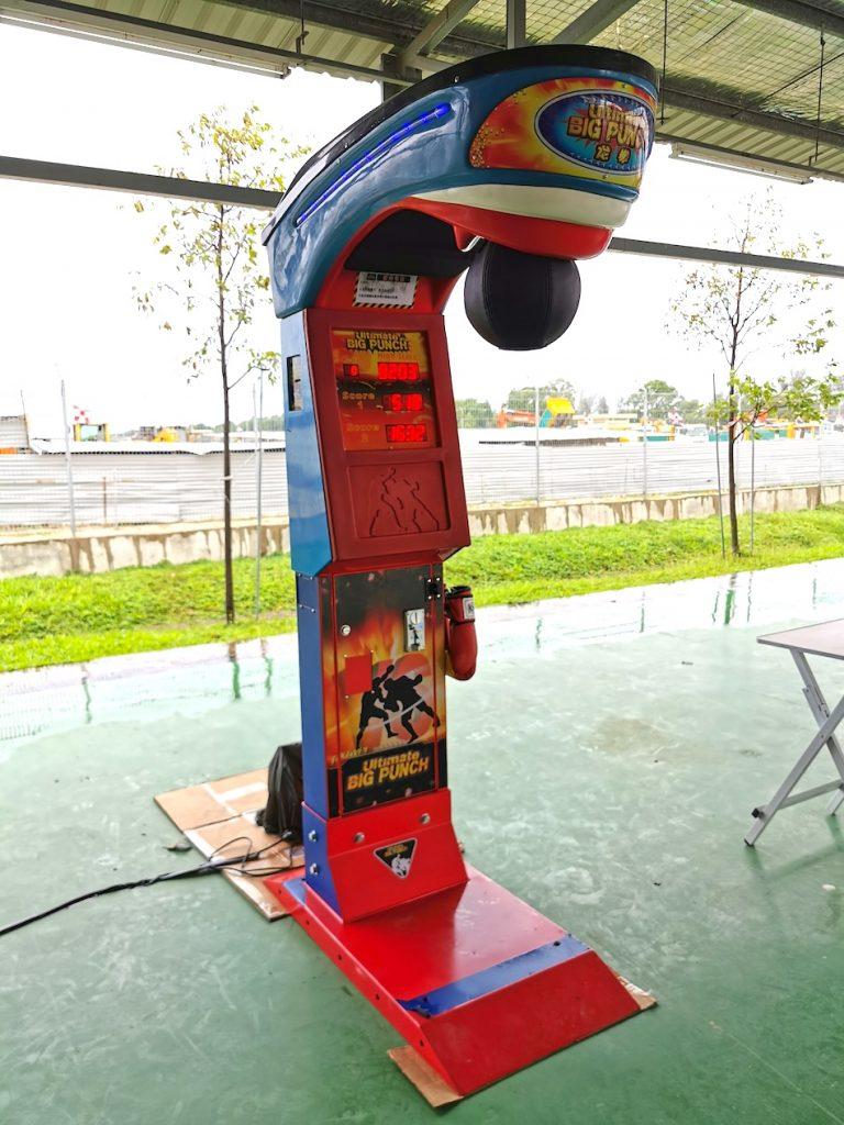 Arcade Puncher Machine Rental