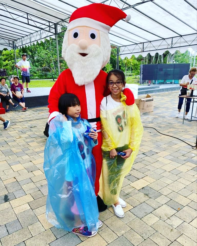 Santa Mascot Rental for Rent