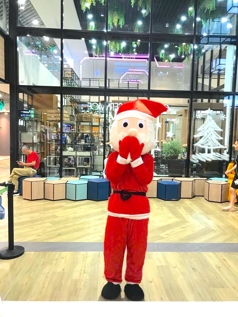 Santa Mascot for Hire Singapore