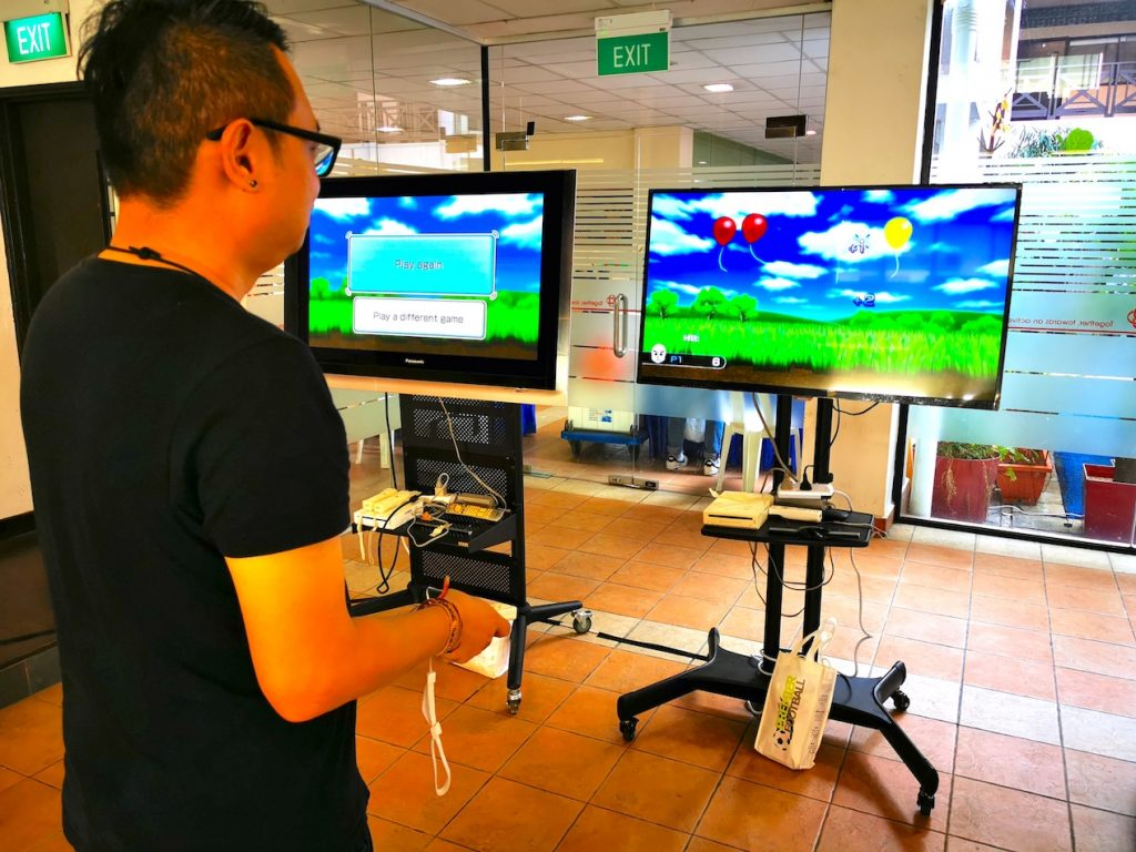 Wii Game Console Rental Singapore