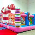Candy Bouncy Castle Rental