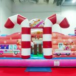 Candyland Bouncy Castle Rental