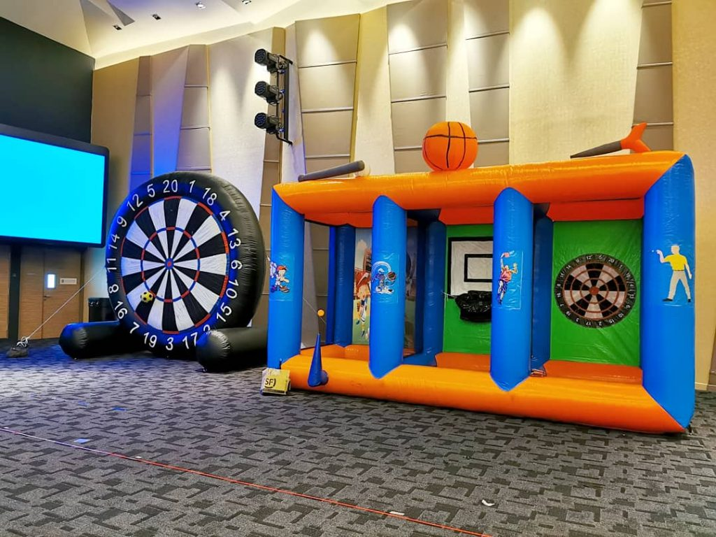 Large Inflatable Game Rental