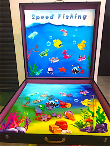Speed Fishing Game Stall Rental Singapore