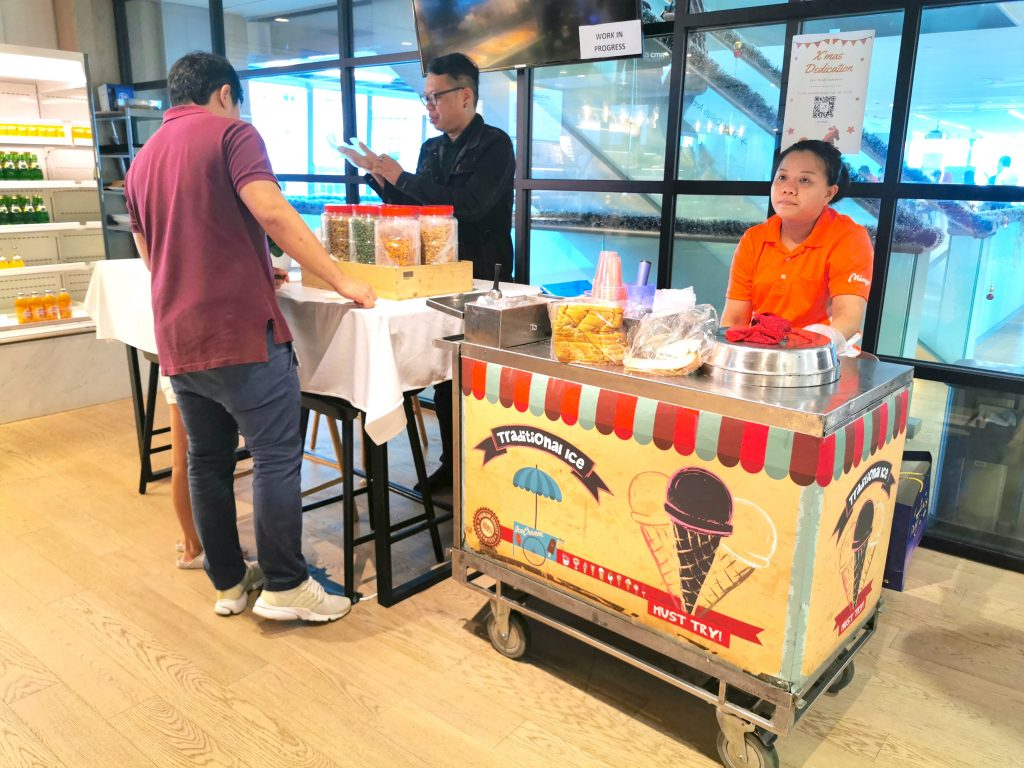 Traditional Ice Cream and Kacang Puteh