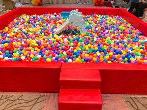 Rainbow Giant Ball Pit Rental