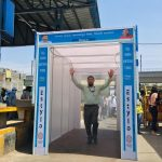 Customised Disinfectant Misting Entrance Tunnel