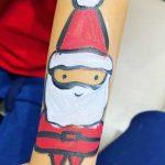Santa Claus Hand Painting