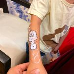 Snowman hand Painting Singapore