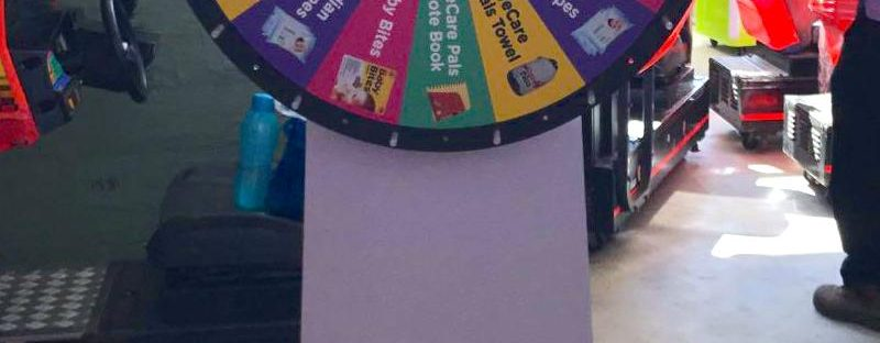Spin the Wheel Rental