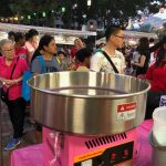 Candy Floss Live Station in Singapore