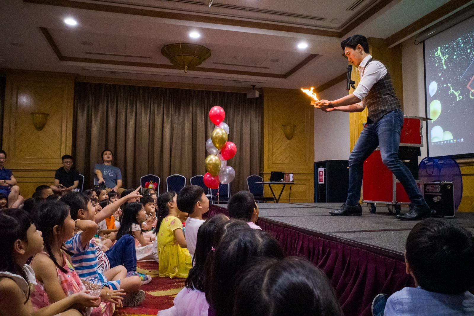 Magician for hire Singapore