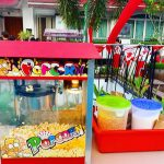 Popcorn Live Station for Pool Party
