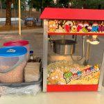 Popcorn Machine Rental for Outdoor Event