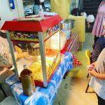 Popcorn Live Food Station for rental