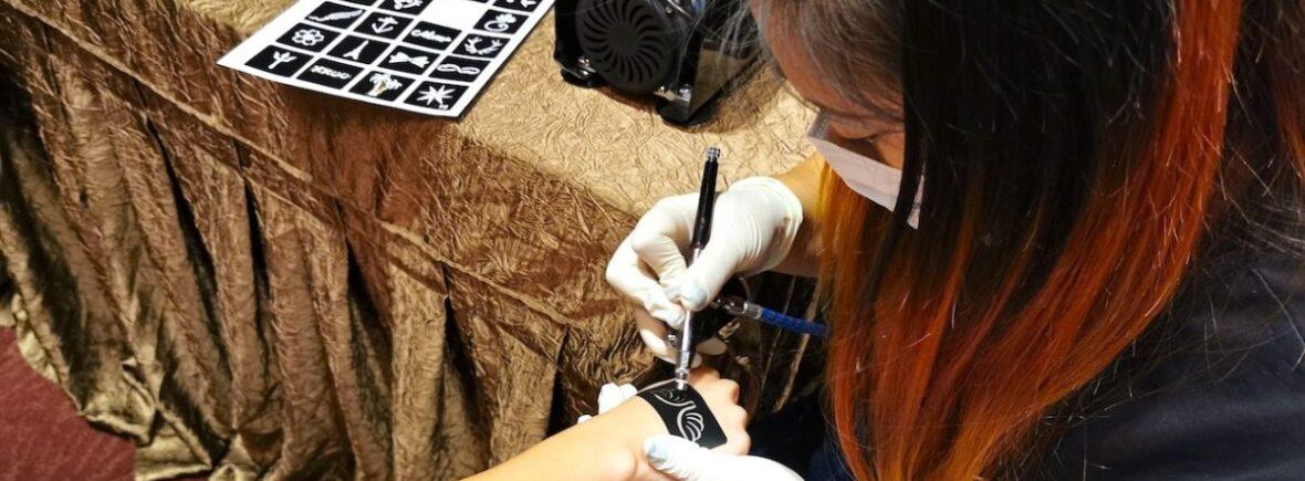 Airbrush Tattoo Singapore 1