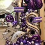 Ballon number for decorations