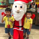 Christmas mascot for rental
